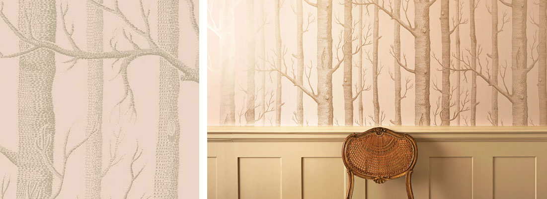 Cole & Son Woods wallpaper - Curtains by Design
