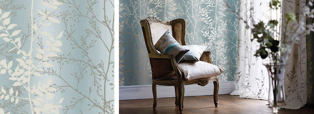 Clarissa Hulse Kallianthe wallpaper - Curtains by Design