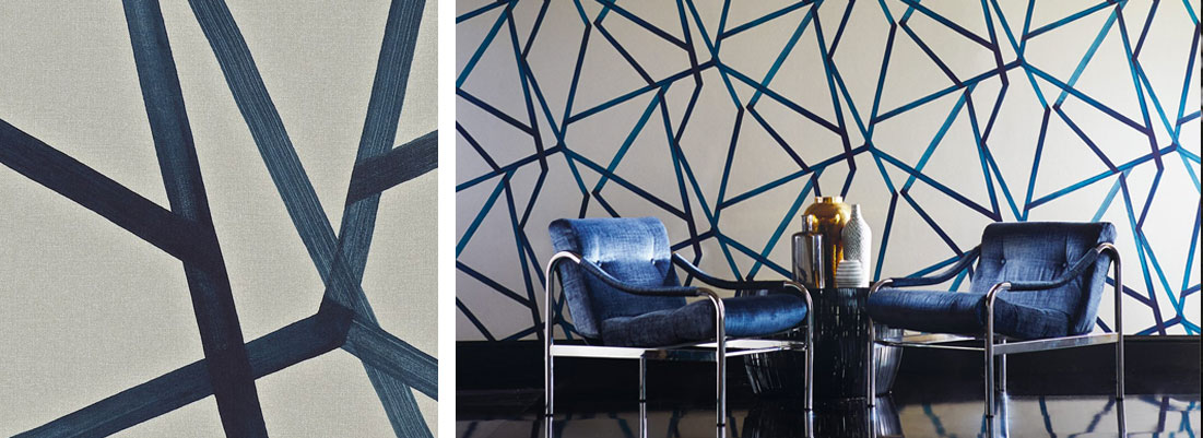 Harelquin Momentum wallpaper - Curtains by Design