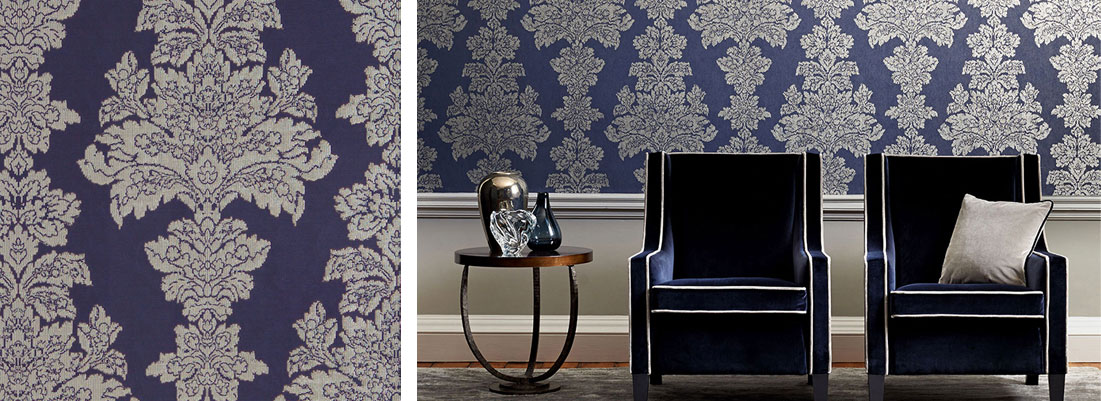 Zoffany wallpaper - Curtains by Design
