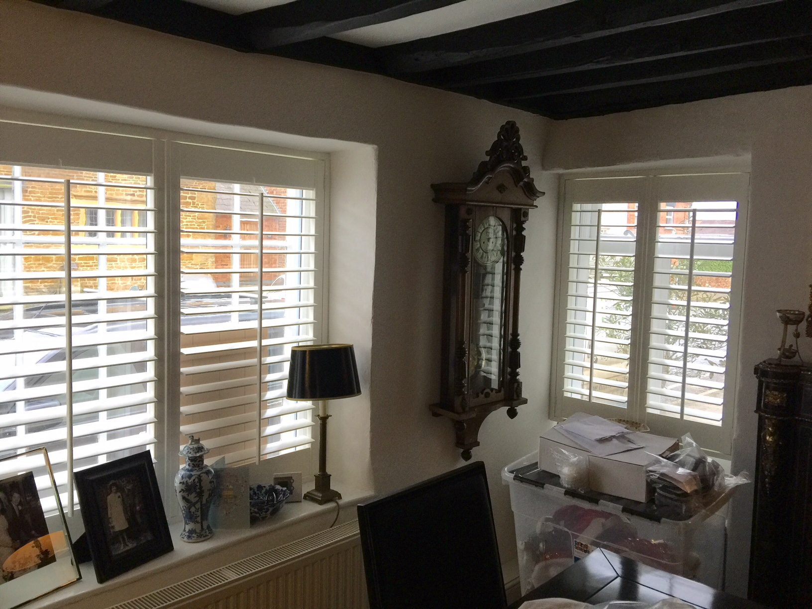 Full height shutters - Curtains by Design
