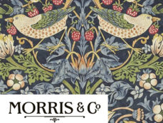 WILLIAM MORRIS & CO WALLPAPER at Curtains by Design