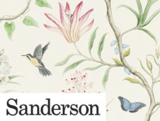 SANDERSON WALLPAPER at Curtains by Design