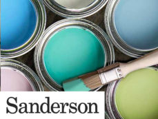 SANDERSON PAINT at Curtains by Design